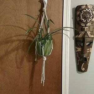 Other - Macrame plant hanger🌱